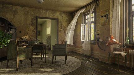 The Art Nouveau room