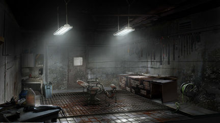 Silent Hill Homecoming torture chair