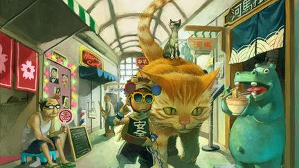 lo siu kong in shopping street