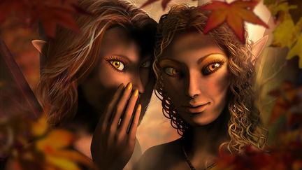 Secrets of the Autumn Nymphs