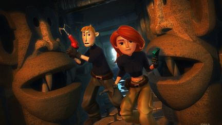 Kim Possible - Journey to the Monkey Cavern