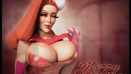 Jessica Rabbit Christmas