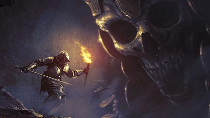 High Lord Wolnir - Dark Souls