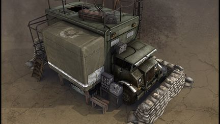 Commonwealth Mobile HQ for Company of Heroes: Opposing Fronts