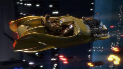 Star Wars Hotrod Speeder