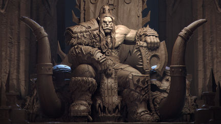 World Of Warcraft. Grom Hellscream