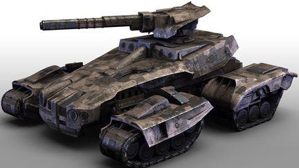 UoP Tank - Game model
