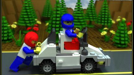 LEGO mini-car