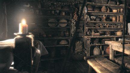 Hut - Kitchen