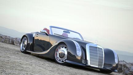 Mercedes SC Retro Concet