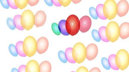 Ballons wallpaper