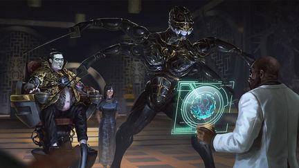 Cyberpunk Blueprint