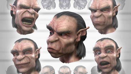 Goblin, Dragon (3D)