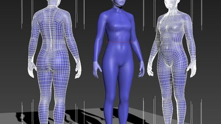 body modeling test