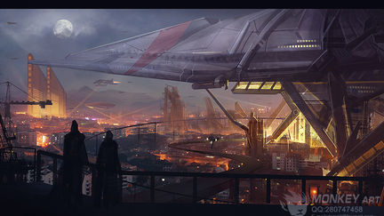 """Science-fiction world - """"Home"""""""