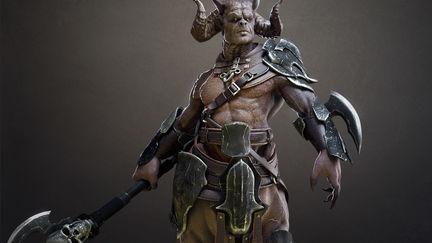 Talos-Demon centaur