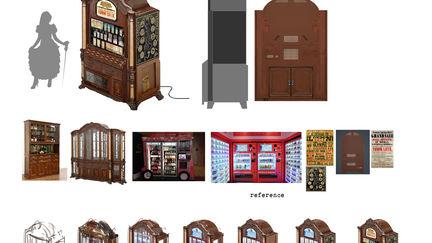 Vending machine / props