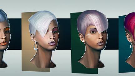 Female Head Designs