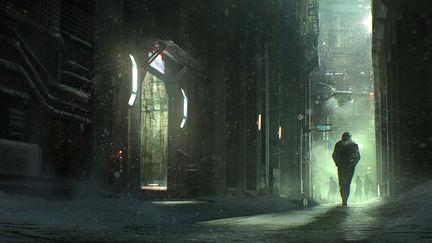 Concept art for Blade Runner 2049