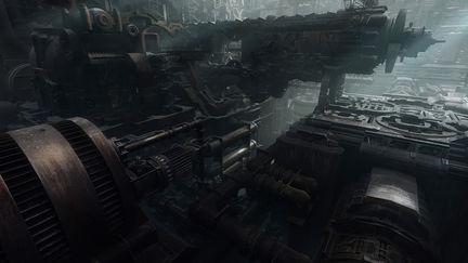 Derelict Ship Interior.