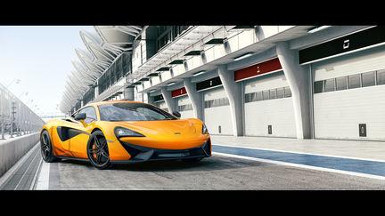 McLaren 570S Bahrain Race Track [Full CG]