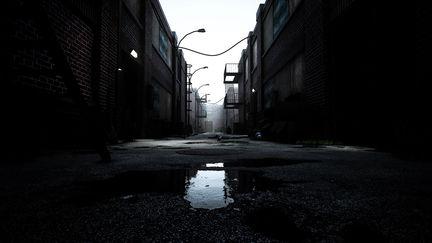Industrial Alley - Unreal Engine 4