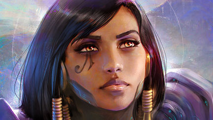 Pharah Portrait / Overwatch Fanart