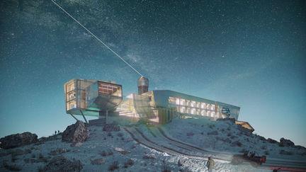 Astronomic Center / Night View