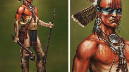 ConQuest Miniatures Woodland Indian