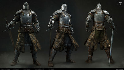 For Honor cinematic: Knight