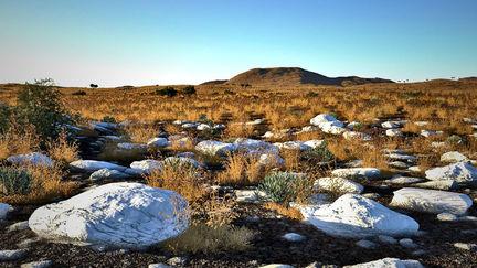 Namibia Quartz Mountain Plain