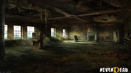 NeverDead 2010 - Environment-palette-studies