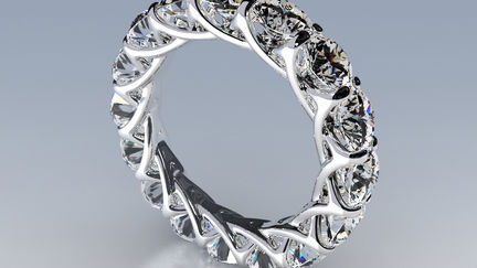 Jewel rings set