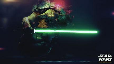 Master Yoda re-imagined