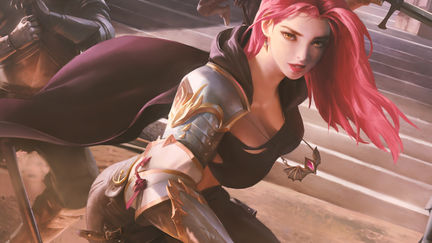 knight girl<3