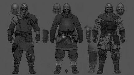 Varangian Outfit concept art