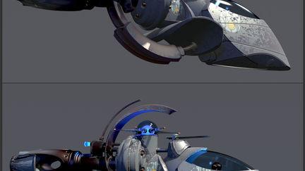 snubNose Scout - NickelAge Spacecraft - vL2