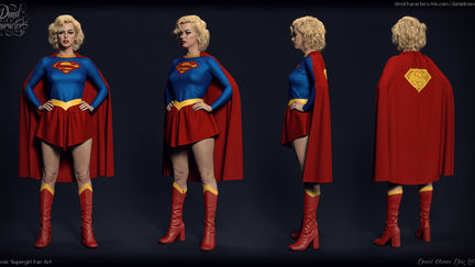 Classic Supergirl Fan Art