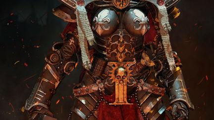 Sister of battle ( warhammer 40k ) fan art