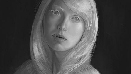 Albino Model - Nastya Zhidkova