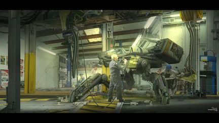 Repair Room (Cyberpunk)