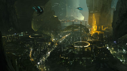 Lunar Cave City