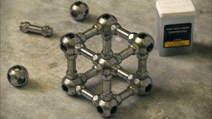 Renewed Escher's Impossible Cube