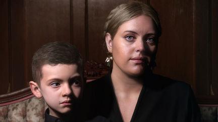 Portrait of Liz and Gabriel