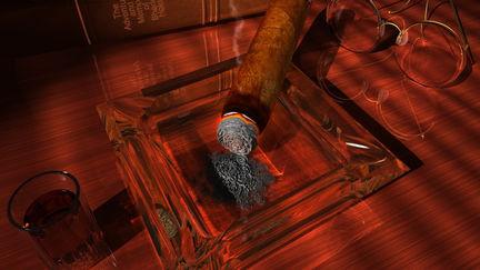 Cigar Still Life