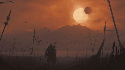 113. Some dark lands