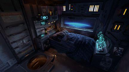 Bedroom in Orbit