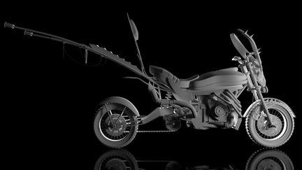 Wasteland Motorbike