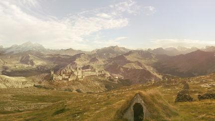 Mattepainting Castle