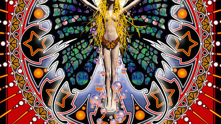Butterfly Lady Tapestry